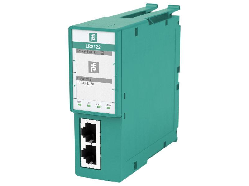 Das neue Gateway von Pepperl+Fuchs bietet die Anbidnung der LB-Remote-I/O-Systeme an die Profinet-Welt. Bild: Pepperl+Fuchs