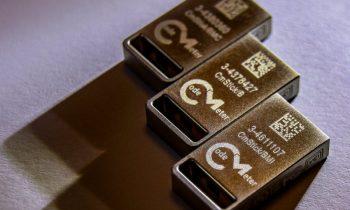 Die neuen »Cmsticks« können von Herstellern zum Schutz und zur Lizenzierung eingesetzt werden. Bild: Wibu