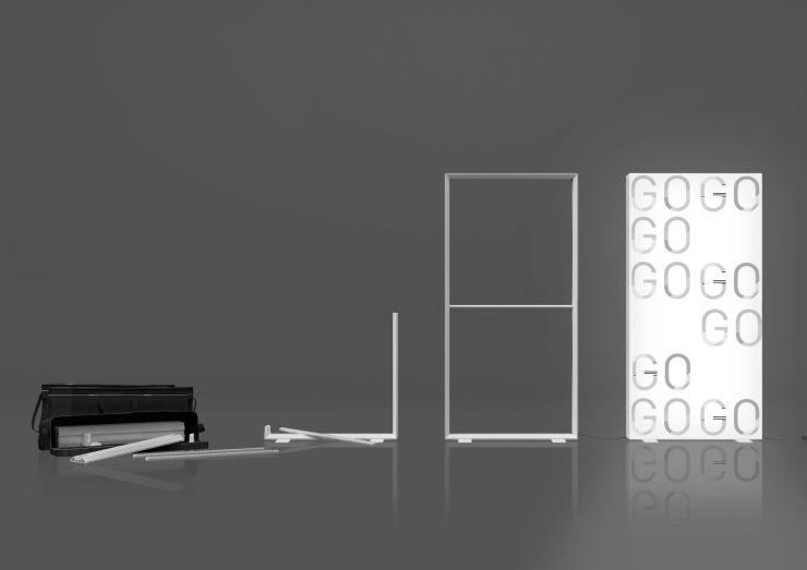 Einfacher Aufbau. Bild: MK Displays
