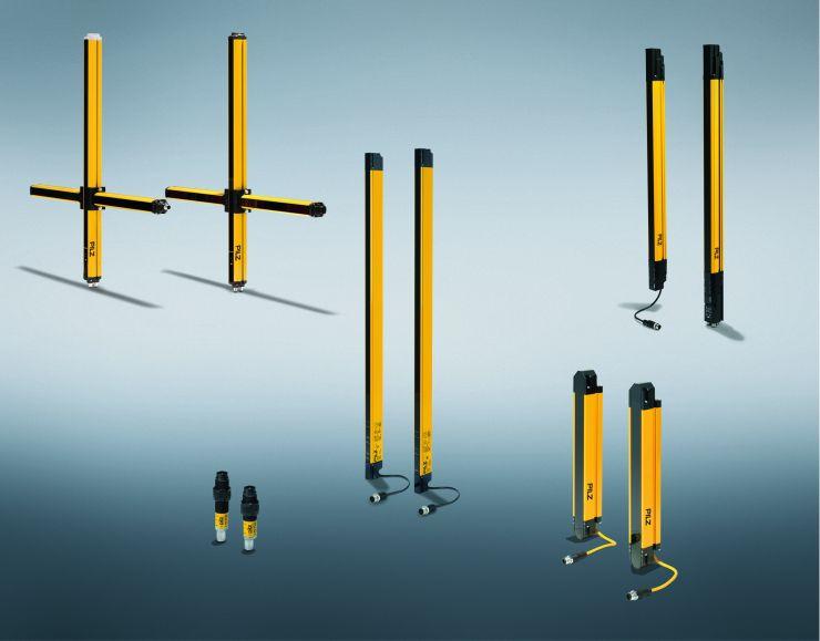 Lichtgitter eignen sich grundsätzlich für den Einsatz in Situationen, die barrierefreie Sicherheitslösungen verlangen. Bild: Pilz