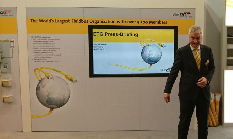 Martin Rostan, Executive Director der ETG, vermeldet ein weiteres Mitgliederwachstum. Bild: Kuhn