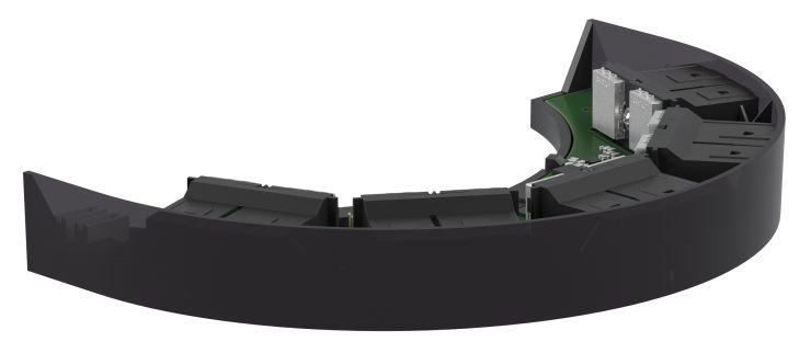 Der kundenspezifisch entwickelte Sensor hat äußerlich nichts mehr mit dem Standardsensor gemeinsam. Bild: Pepperl+Fuchs