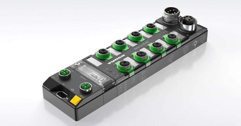 Der Managed Ethernet-Switch »TBEN-L-SE-M2«. Bild: Turck