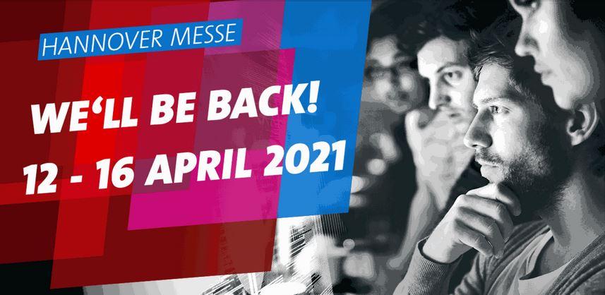 Findet erst wieder 2021 statt: die Hannover Messe. Bild: Deutsche Messe