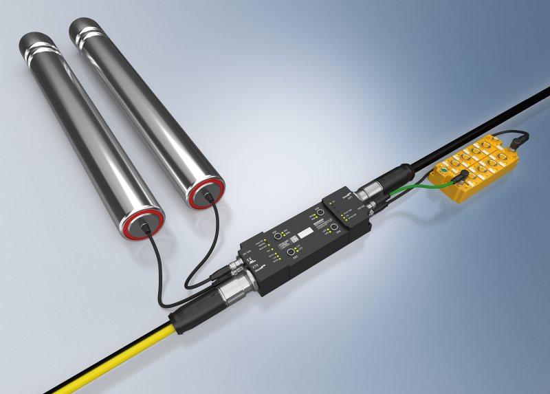 Die Ethercat-Box ermöglicht effiziente Rollenbahnsysteme (Bild: Beckhoff).