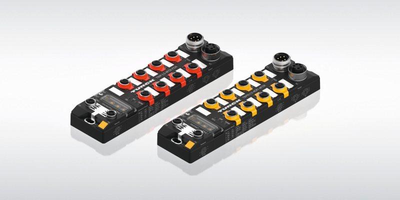 Die neuen Safety-Module steuern Sicherheitsfunktionen auch autark aus dem Feld (Bild: Turck).