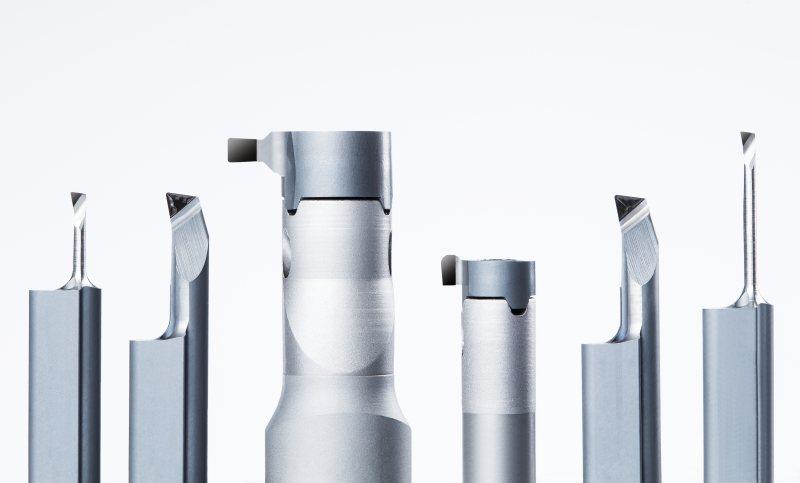 Diamantwerkzeuge aus polykristallinem Diamant (PKD) zur Bearbeitung hochfester Werkstoffe (Bild: Horn/Sauermann).