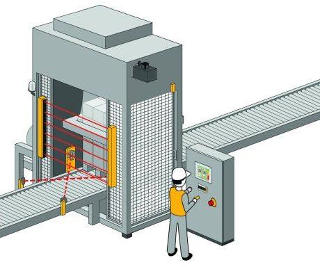 Nur autorisiertes und geschultes Personal soll für ausgewählte Betriebsarten Zugang zur Maschine oder Anlage erhalten - Bild: Pilz.