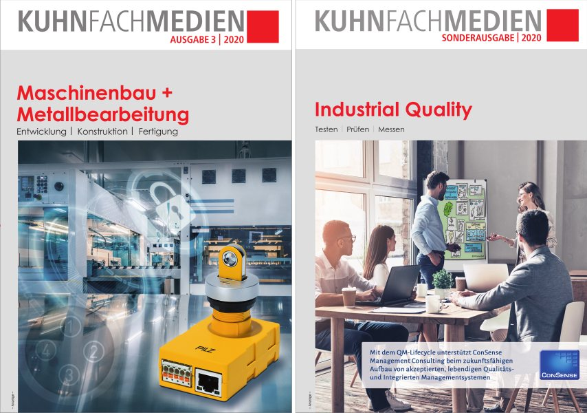 Starkes Duo: »Maschinenbau + Metallbearbeitung« und »Industrial Quality«