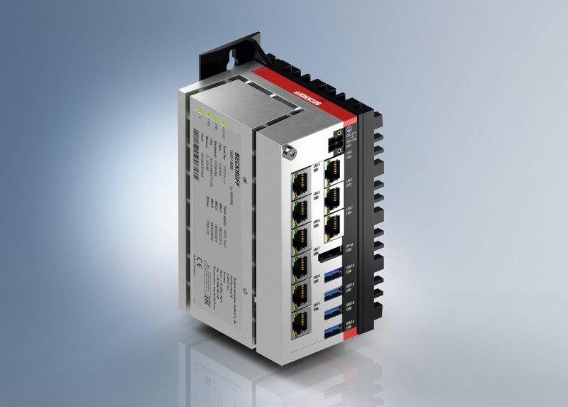 Der Ultra-Kompakt-Industrie-PC eignet sich für ein breites Anwendungsspektrum (Bild: Beckhoff).