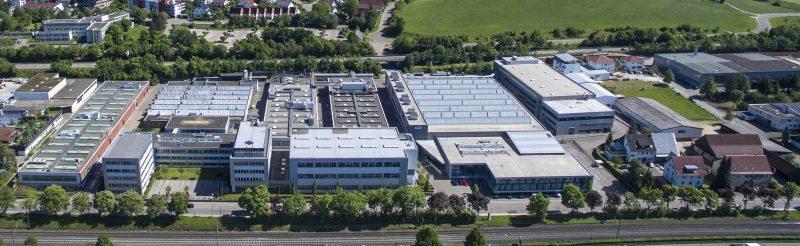 Das Hauptwerk in Aalen und die acht Tochterunternehmen in Deutschland werden ab 2021 mit umweltfreundlich produziertem Strom betrieben (Bild: Mapal).
