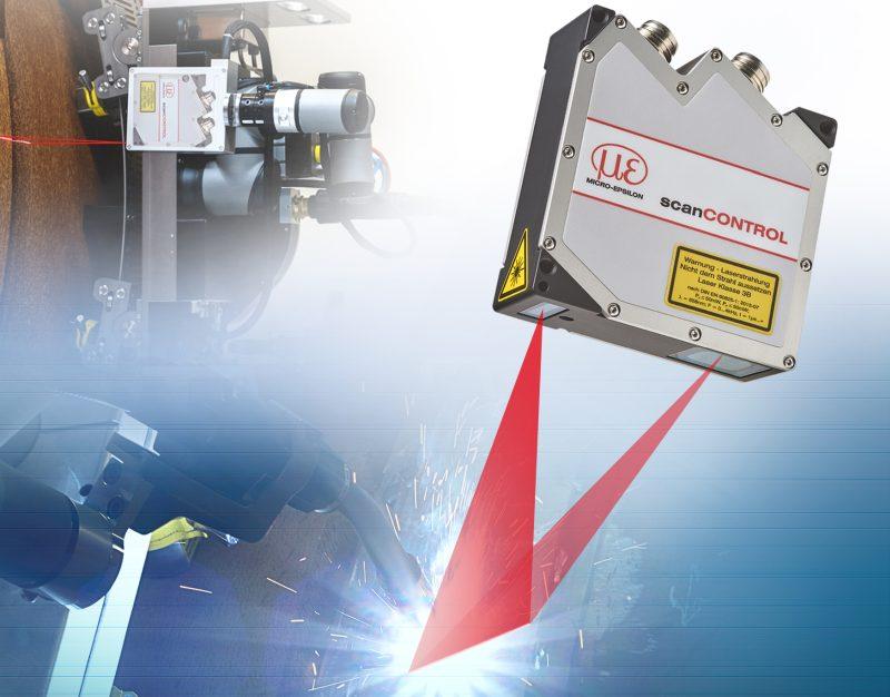 Schweißnahtoptimierung dank Laser-Profil-scanner (Bild: Micro-Epsilon).