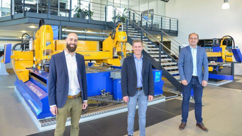 Drei neue Mitarbeiter ergänzen das Vertriebsteam (Bild: Microstep).