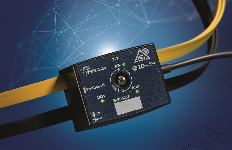 Die Integration von IO-Link gelingt wirtschaftlich mit ASi-5 (Bild: Bihl+Wiedemann).