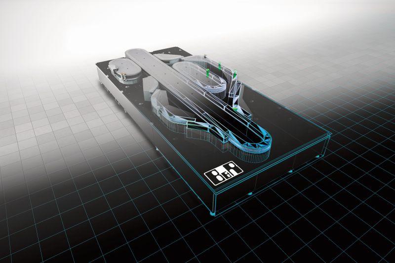 Digitale Zwillinge ermöglichen, dass neue Produkte quasi ohne Umrüstzeit und Prototypen gefertigt werden können (Bild: B&R).