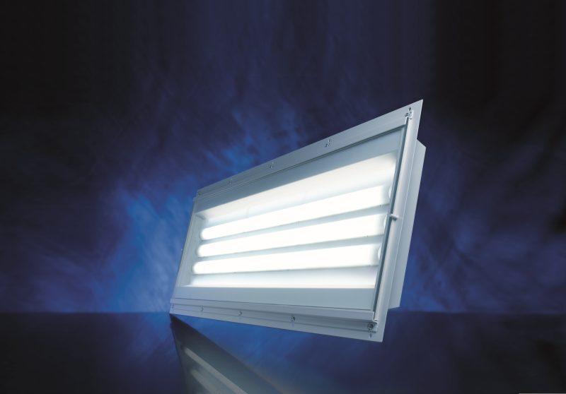 LED-Licht sorgt in Lackieranlagen mit 4000 bis 6500 Kelvin für eine sehr gute Farbwiedergabe (Bild: Jung-Leuchten).