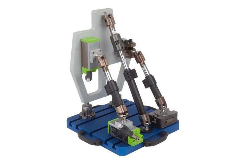 Der Werkstückstabilisator minimiert Vibrationen und sorgt für einen sicheren Halt (Bild: Kipp).