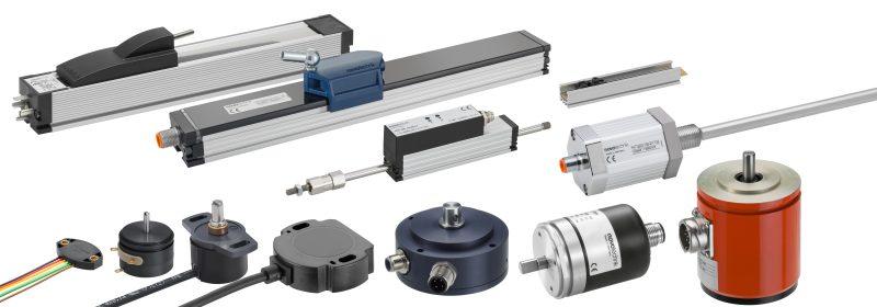 Potenziometrische und kontaktlose Winkelsensoren sind in unterschiedlichen Varianten und Baugrößen verfügbar (Bild: Novotechnik).