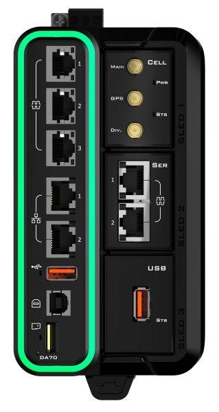 Frontansicht des Edge-Controllers (Bild: Red Lion).