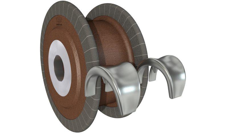 Schleifwerkzeuge mit Trägerkörpern aus Naturfaser eignen sich zum Beispiel für Anwendungen in der Medizintechnik (Bild: Tyrolit).