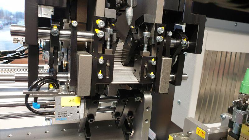 Das Stangenmagazin puffert große und kleinere Mengen an Stangen (Bild: Zorn Maschinenbau).