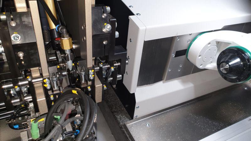 Das Spannmittel hält und sichert zuverlässig das Werkstück während des Bearbeitungsvorgangs (Bild: Zorn Maschinenbau).