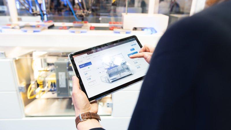 Digitales Engineeering bietet Effizienzpotenziale für den Maschinenbau (Bild: Lenze).