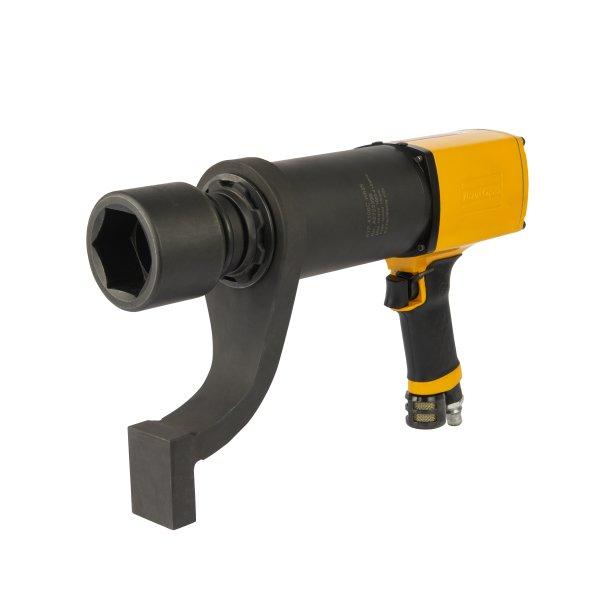 Der neue Druckluft-Hochmomentschrauber leistet bis zu 4100 Nm Drehmoment (Bild: Atlas Copco Tools).