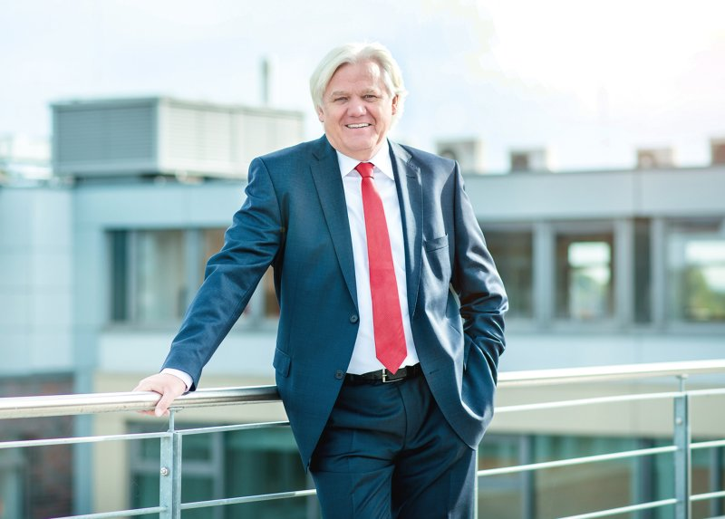 Hans Beckhoff, Geschäftsführender Inhaber von Beckhoff Automation (Bild: Beckhoff).