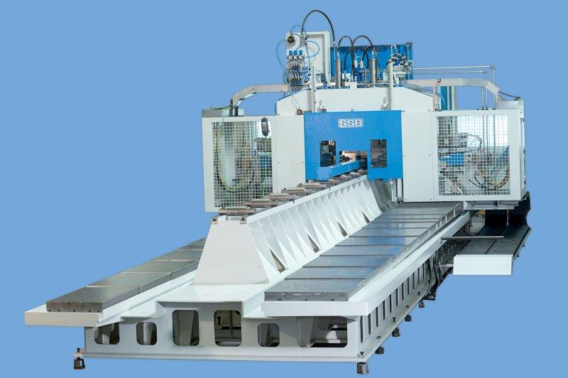 Ein vollautomatisches Bearbeitungszentrum für die flexible Zerspanung unterschiedlicher Profile von bis zu 8 m Länge (Bild: SSB).