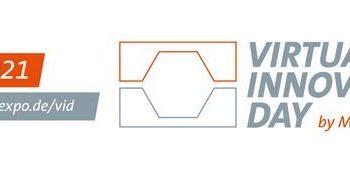 Am 10. Juni findet der »Virtual Innovation Day« statt (Grafik: Messe Stuttgart).
