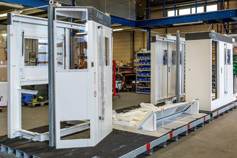 Der Hersteller von Abfüllmaschinen KHS nutzt Systemlacklösungen (Bild: FreiLacke).